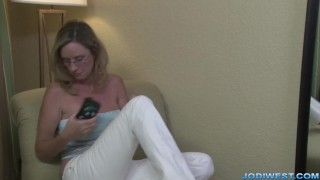 Jodi West in Mother's Special Massage Facial tits