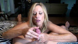 In jodi stepmother's handjob west welcome home point stripping