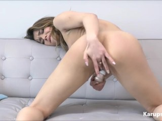 Rosie Cooper Hot Solo Masturbation