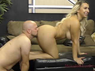 Big Ass Nina Kayy Makes Her Loser Slaveboy Worship Her Ass & Feet
