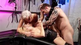 ALICIA ROSE TIES UP HER SLUT FRIEND IN BDSM PLAY