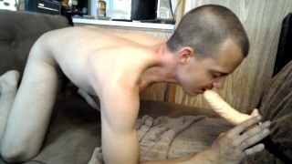 Sucking sexy dick ends dp learns from both sexy hand