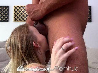 CastingCouch X Amateur Lanna Carter fucks agent in first film