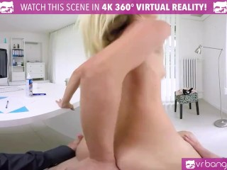 VR Bangers-Hot Assistant Fuck Her Boss On The Table