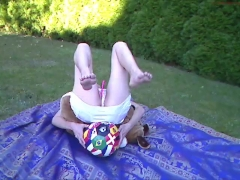 Outdoor in Skirt coconut_girl1991_260816 chaturbate REC