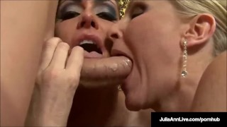 A w together julia jessica the cock milf james ann suck 3some old