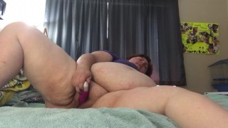 Busty Milf Julia Ann Stretches Her Pussy With A Big Toy!