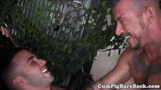 Ripped dilf barebacks jock muscular muscular cumshot