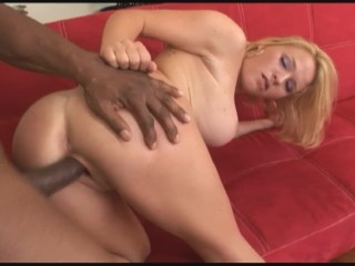 Milf With Huge Tits Krissy Lynn Rides Black Cock Monster