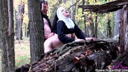 Demon Fucks Smoking Nun - ALHANA WINTER - Twisted Faith Remaster Exclusive