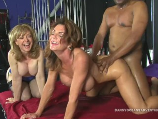 Hot chick spank docean nina hartley and deauxma squirts fucking black dick orgasm squir