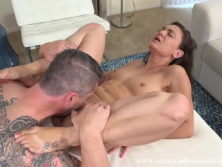 Olivia Wilder Makes A Good Blowjob And Gets A Great Facial