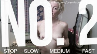 Haighlee's Cock Hero No. 2 - Can you cum on command? - OurDirtyLilSecret