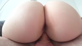 Sex with big young ass close up