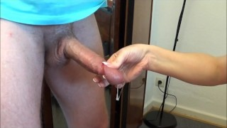 Carmen Cumtrol: ruined cumshot without orgasm a good load boy!