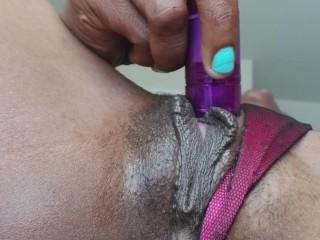 Sweet pussy ebony moan MONDAY