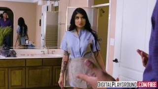 DigitalPlayground - Broke College 2 Episode 3 Brenna Sparks Danny Mountain Pussy rimming