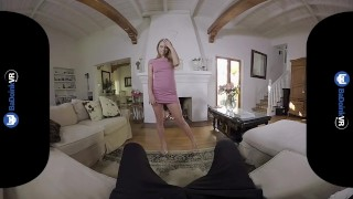 Preview 3 of BaDoink VR Jill Kassidy Makes You Ready For Wedding VR Porn