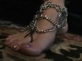 Foot Jewelry Tease