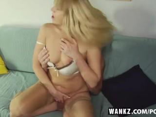 WANKZ- Annas Moist Milf Pussy