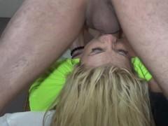 Busty Slut Nicole Rossi Gets A Brutal Gagging Throat Fuck Before A Festival
