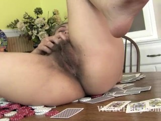 Hairy pussy puffy tits