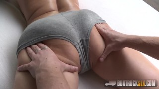 Hot Brittany Bardot Forgets about her Boyfriend's Absense