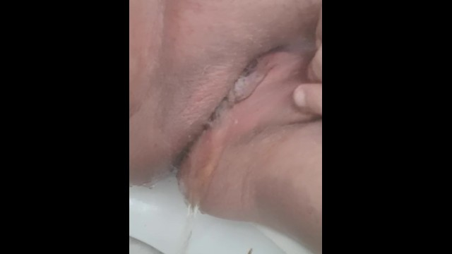 Hardest piss stream - Tried my hardest to hold my pee but it just had to come out