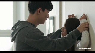 Yoo Ji-won and Han Na in To Her Threesome reverse