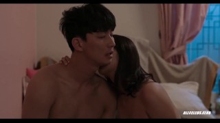Yoo Ji-won and Han Na in To Her Doggy scene