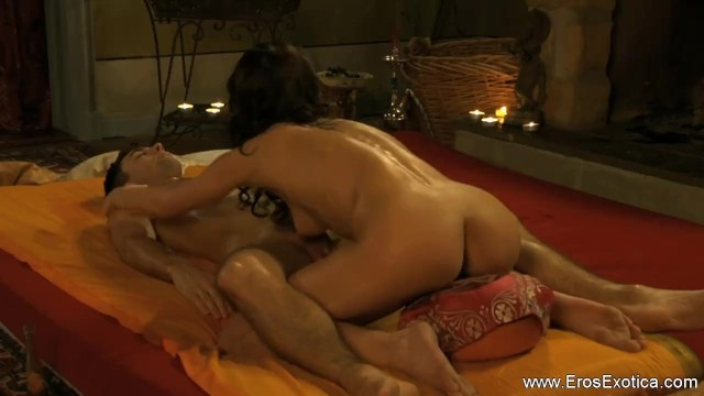 Wife masturbates husband and massages prostate Intimate prostate explorations from the exotic land of india