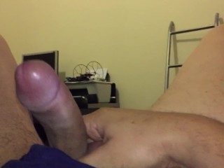Touching my cock