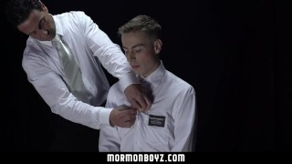 Preview 3 of MormonBoyz-Ritual Turns Into Raunchy Gangbang