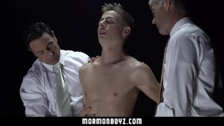 Preview 5 of MormonBoyz-Ritual Turns Into Raunchy Gangbang