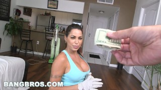 Maid julianna takes latina bangbros tit mda dick big vega tits boss