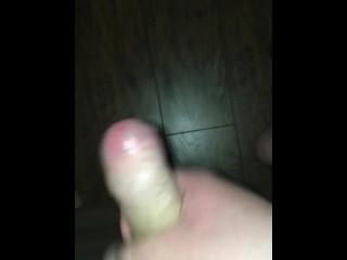 Solo male jerking off