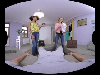Exotic hottie Luna Corazon tempts you in VR