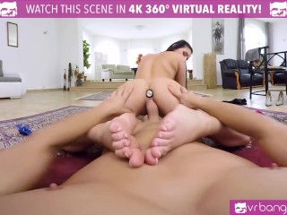 VR Bangers-Lucia Denvile Get Penetrated In The Back By A Big Cock