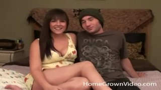 College Couple Film Themselves