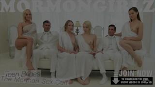 Mormongirlzlesbian friend deepthroat to anonymous cock forces blonde blond