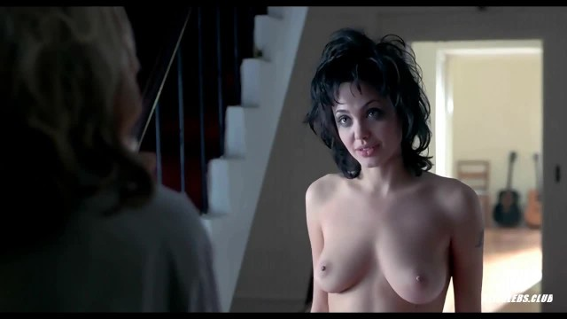 Nude celebs taking showers - Angelina jolies nude scenes from gia