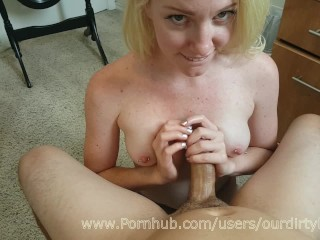 Humiliating My Cuckold Husband Haighlee Teases Boyfriends Big Cock - Ourdirtylilsecret, Amateur Hand
