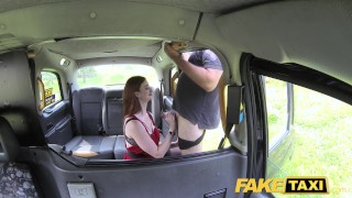 Fake Taxi Olive skin redhead in lingerie  car sex point of view outside oral amateur blowjob thick cumshot camera faketaxi rimming reality rough dogging pussy licking zara