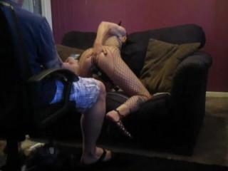 Slave kitty being punished....