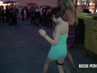 Pornocasting und Spermawalk auf der Venus Messe mit Vanessa -AISCHE PERVERS