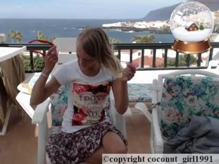 Wind on my little balcony Skirt wach coconut_girl1991_091216 chaturbate REC
