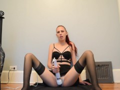 Playing in white panties teaser 4