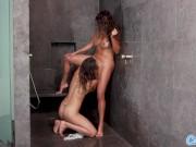 Sexy Latinas Daisy Marie & Vanessa Veracruz Have Steamy Shower Sex in 4K