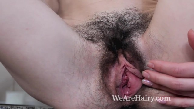 Hairy fucked in kitchen Maria rosa masturbates on her kitchen counter