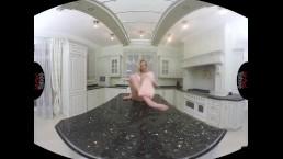 VIRTUAL TABOO - Kinky Vinna Reaching Orgasm On the Kitchen Table